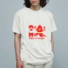 おもしろTシャツ屋(oko)jの【ドラマ あのキス】タコさんWINNER【ご着用】 Organic Cotton T-Shirt