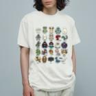 すとろべりーガムFactoryの2.5等身 UMA図鑑 Organic Cotton T-shirts