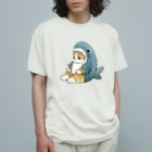 mofusandのサメにゃん Organic Cotton T-shirts