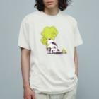 なまらやのうしろきのこ猫 Organic Cotton T-shirts