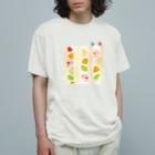 isshiki mayumiのフルーツサンド登山Tシャツ Organic Cotton T-Shirt