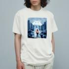 出口えりの街の怪物 Organic Cotton T-Shirt