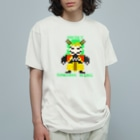 SAKURA WING LLC.のドット絵シリーズ【兄鬼】 Organic Cotton T-shirts