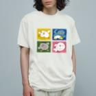 mugny shopのともだち Organic Cotton T-shirts