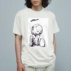 ゆののC1/C1 (purple) Organic Cotton T-Shirt