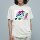 chiakiuedaのきりこむいさぎよき世界へ Organic Cotton T-shirts