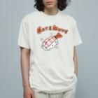 ガモさんのEat and Move えび Organic Cotton T-shirts