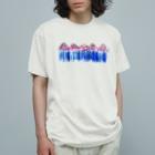 子どもの絵をオリジナル雑貨にします【aad (アード)】の【オーダー見本】 子どもの絵をTシャツにします Organic Cotton T-Shirt