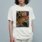 ヤマネコ。の部屋のlucky cat Organic Cotton T-shirts