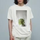 harucameraのharucamera マトリカリア Organic Cotton T-shirts