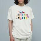 *suzuriDeMONYAAT*のCT155 ちびた色鉛筆*A Organic Cotton T-Shirt