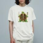 トロ箱戦隊本部の腹筋?アルよ? Organic Cotton T-shirts