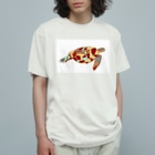 YellowSeed by MackPicasso  の青海ガメ Organic Cotton T-shirts