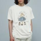 けちゃっぷごはんのお店の雨宿り Organic Cotton T-shirts