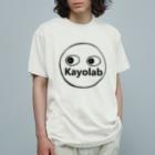カヨラボ スズリショップのKayolabくん Organic Cotton T-shirts