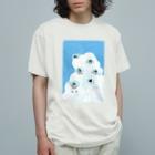 マツザキユキの夏風とヒナチャン Organic Cotton T-Shirt