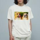 ちい むう ととろ Chi Mu Totoroのヤリキレナイ コーギー Organic Cotton T-Shirt