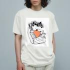 ゆのの「すき」 Organic Cotton T-Shirt