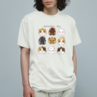 moca's  atelierのguinea pig   day Organic Cotton T-Shirt