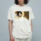 maya.yの縞(西日) Organic Cotton T-Shirt