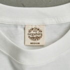 *suzuriDeMONYAAT*のCT165 スズメがちゅん*うわばきちゅんA*イラストサイズ大きいver. Organic Cotton T-Shirtは地球環境に配慮した「オーガビッツ」のTシャツ