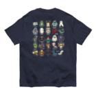 すとろべりーガムFactoryの【バックプリント】 2.5等身 UMA図鑑 Organic Cotton T-shirts