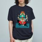 有明ガタァ商会のガターシャ様 Organic Cotton T-shirts