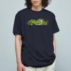 OJIKのクロアゲハイモムシ Organic Cotton T-shirts