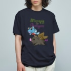 有明ガタァ商会のガタとこぶたのお空のおさんぽ Organic Cotton T-shirts