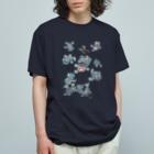 有明ガタァ商会の10匹のガタと2匹のスボ Organic Cotton T-shirts