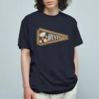 motto_hometeの牡蠣好き用ペナント Organic Cotton T-shirts