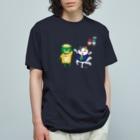 おばけ商店のおばけTシャツ<1周年記念> Organic Cotton T-shirts