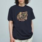 オガサワラミチの共有して長ずる Organic Cotton T-shirts