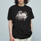 オガサワラミチのミイラ Organic Cotton T-shirts