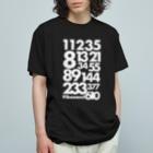 NICE ONEのFibonacci sequence Organic Cotton T-shirts
