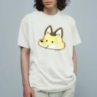 すずきいときちのすずきつね_顔アップ Organic Cotton T-shirts