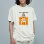 キッズモード某のサウナ王への道 Organic Cotton T-shirts