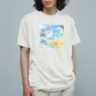 山田萌の「世界経済」 Organic Cotton T-shirts