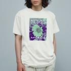 nanometerのnanometer『いつも心に花を』オーガニックコットンTシャツ Organic Cotton T-shirts