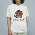 スーパーわんわんズのマフラーダックス Organic Cotton T-shirts