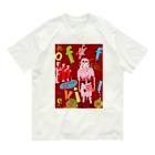 仁三郎アートの邪気退散 Organic Cotton T-shirts