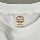 Poooompadoooourの本と、なまけもの Organic Cotton T-shirtsは地球環境に配慮した「オーガビッツ」のTシャツ