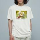 ハミングピッピのシロハラガーデン Organic Cotton T-shirts