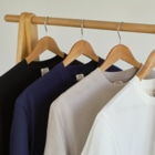さくらいろのうさぎのumi Organic Cotton T-shirts