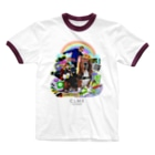 """NEXT LEVEL(s)の""""Gimme Gimme"""" WEAR from Next Level(s) Ringer T-shirts"""