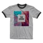 GRIMM OFFICIAL SHOPのGRIMM RENDERED Ringer T-shirts