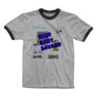 GoodHoripのSavage Blue Ringer T-shirts