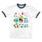 すとろべりーガムFactoryのドットSummer no.2 Ringer T-Shirt