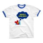YASUKOのYマーク(No.2)  Ringer T-shirts