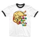 似顔絵屋コハルビヨリのLab Ringer T-shirts